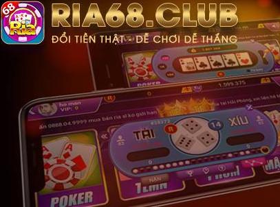 Hình ảnh 3ria68 in Tải ria68 - Game bài vip club đổi thưởng mỗi ngày