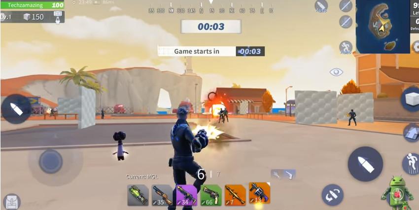 Hình ảnh game creative destruction mod1 in Tải game creative destruction mod apk full diamond