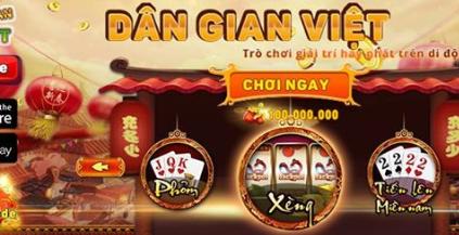 Hình ảnh game dan gian2 in Game dân gian đổi thưởng bản mới nhất