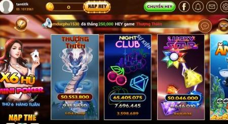 Hình ảnh hey2 in Tải game hey club đổi thẻ - nạp thẻ 3 mạng tại heyvip.fun