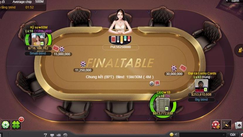 Hình ảnh Poker texas 5 in Tải Game Poker texas Việt Nam Apk - ios Nhận 100M Chip Miễn Phí