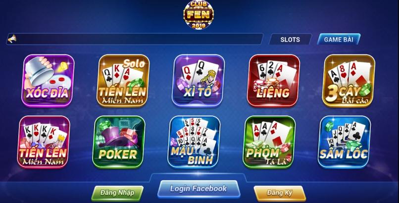 Hình ảnh club fen3 in Tải game Club Fen apk, ios đánh bài, quay slot đổi thưởng