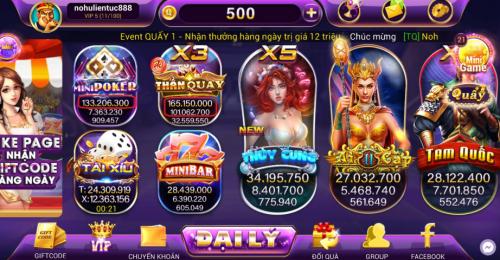 Hình ảnh thanquay2 e1558448350221 in Tải game thanquay.win apk, ios, otp - Thanquay win trả thưởng khủng