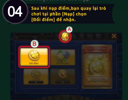 Hình ảnh nap xu4 in Hướng dẫn cách nạp tiền game đồng xu may mắn 777