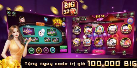 Hình ảnh big52 club2 in Tải big52.club apk, ios -  Big52 club cổng game bài mobi nhận giftcode
