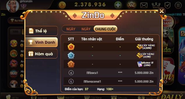 Hình ảnh zinvin club in Tải zinvin apk, ios - Zin.vin chơi nhỏ thắng lớn nhất 2020