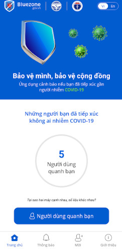 Hình ảnh bluezone apk in Tải bluezone.gov.vn cho Android, ios, pc/ Bluezone - Electronic mask