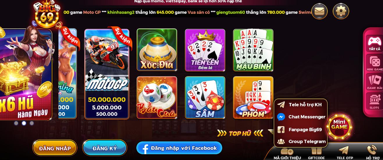 Hình ảnh big69 club ios in Tải big69.club apk / ios - BIG69 - game online vip đổi thưởng
