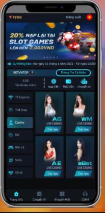 Hình ảnh tf88 club in Tải tf88 app - Cổng TF88 Casino tặng ngay 88k miễn phí