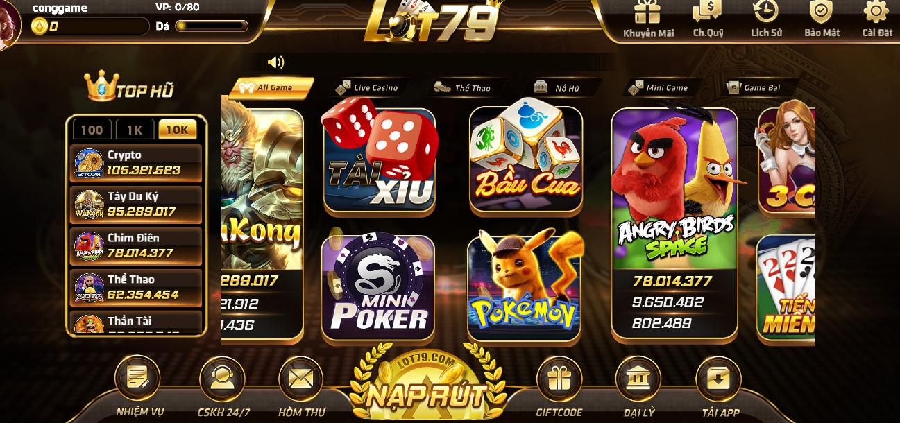 Hình ảnh lot79 com in Tải lot79.com apk / ios - Lot79 club đăng nhập nhận 79k
